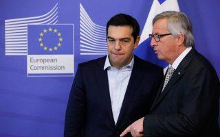 Κατά τη χθεσινή συνάντηση με τον Ελληνα πρωθυπουργό Αλ. Τσίπρα, ο Ζαν-Κλοντ Γιουνκέρ ξεκαθάρισε ότι παρ' όλο που θέλει να βοηθήσει, η Κομισιόν δεν είναι ο βασικός παίκτης, καθώς, όπως έχει τονίσει στο παρελθόν, οι αποφάσεις λαμβάνονται από τα κράτη-μέλη σε επίπεδο Eurogroup.