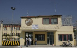 Στη φωτογραφία η φυλακές Λάρισας.Το Σχολείο Δεύτερης Ευκαιρίας που λειτουργεί πιλοτικά στις δικαστικές φυλακές Λάρισας εγκαινίασε ο Υπουργός Δικαιοσύνης κ. Αν. Παπαληγούρας