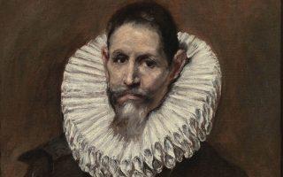 Πορτρέτο του νομικού και πολιτικού Jeronimo de Cevallos, φίλου και προστάτη του Ελ Γκρέκο, ο οποίος τον ζωγράφισε το 1613.