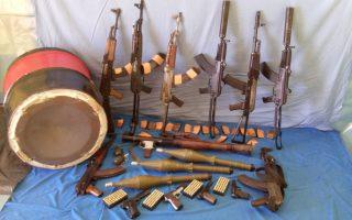 Τα όπλα που θα χρησιμοποιούσαν ο Χρ. Ξηρός και οι συνεργοί του για την απόδραση από τις φυλακές Κορυδαλλού.