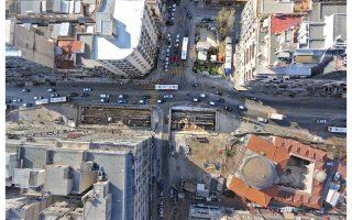 Κατά την περίοδο αυτή, στην οποία η «Αττικό Μετρό» και ο εργολάβος βρίσκονται σε διένεξη για τη συνέχιση του Μετρό Θεσσαλονίκης, έχουν σταματήσει και οι αρχαιολογικές εργασίες.