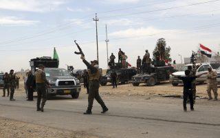 AFP: Ιρακινοί στρατιώτες στο Τικρίτ