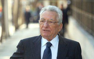 Ο πρώην υπουργός Εξωτερικών Πέτρος Μολυβιάτης.