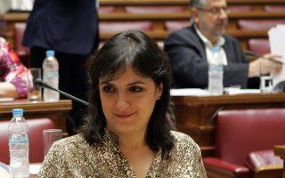 Η Ελενα Παναρίτη, σύμβουλος του υπουργού Οικονομικών.
