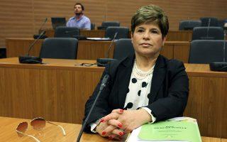 Η πρόεδρος της Κεντρικής Τράπεζας Κύπρου κ. Χρυστάλλα Γιωρκάτζη.