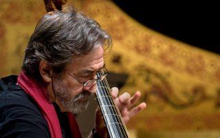 Η αυριανή συναυλία του Ζόρντι Σαβάλ, στη Στέγη Γραμμάτων και Τεχνών, είναι sold out.