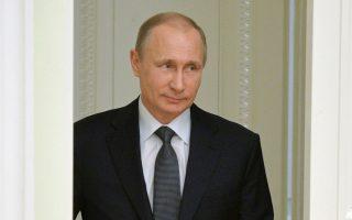 Καθεστωτική αλλαγή στη Μόσχα μέσω ΜΚΟ απεργάζεται η Δύση, σύμφωνα με τον Πούτιν.