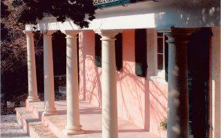 Φωτογραφική ξενάγηση στο «Μουσείο Καποδίστρια» στην τοποθεσία Κουκουβίτσα. Ηταν η εξοχική οικογενειακή κατοικία του Ιωάννη Καποδίστρια, όπου έζησε έως τα 16 του χρόνια (Αρχείο Αναγνωστικής Εταιρείας).