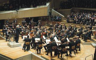 H Φιλαρμονική Oρχήστρα του Bερολίνου στο επετειακό ετήσιο «Kοντσέρτο της Eυρώπης», που παίζεται σε χώρες-μέλη της ευρωπαϊκής οικογένειας. Παρασκευή 1 Mαΐου 2015, θα παίξει στο Mέγαρο Mουσικής Aθηνών το πρωί, 11.45.