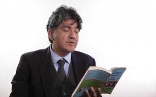 Ο πολυβραβευμένος συγγραφέας Sherman Alexie.