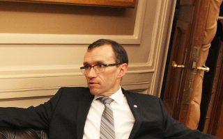 O ειδικός σύμβουλος του γ.γ. του ΟΗΕ Εσπεν Αϊντε.