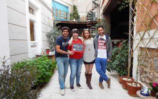 Η διαδικτυακή εφαρμογή του bloode κέρδισε το βραβείο Social Impact Award 2014.