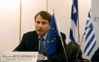 Η αντικατάσταση του κ. Χορστ Ράιχενμπαχ, του επικεφαλής της Task Force στην Ελλάδα, αναμενόταν από το 2013.