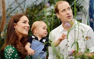 FILE - This July 2, 2014, file photo shows Britain's Prince William and Kate Duchess of Cambridge and Prince George during a visit to the Sensational Butterflies exhibition at the Natural History Museum, London.  Kate and William will soon have a second little prince, but will parenting two kids under 2 be a soul-draining, tear-inducing experience for them like it sometimes is for the rest of us? Regression and rivalry may rear in older siblings, even royals, as they're expected to be big boys or girls when still babies themselves. Even with plenty of extra hands, bringing home baby No. 2 can be more mega-disruption than bundle of joy to the comforting routine of baby No. 1. (AP Photo/John Stillwell, File)