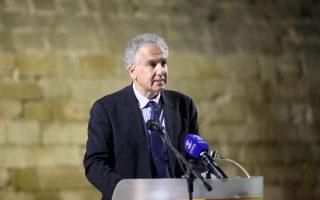 Ο πρύτανης του Πανεπιστημίου Κύπρου, Κώστας Χριστοφίδης.