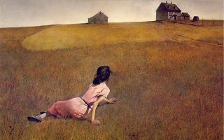 «Ο κόσμος της Χριστίνας», ο γνωστός πίνακας που ο Αμερικανός Αντριου Γουάιεθ (Andrew Wyeth) φιλοτέχνησε το 1948.