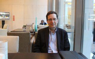 Ο Μιχάλης Χαλιάσος, καθηγητής Οικονομικών στο Πανεπιστήμιο Goethe της Φρανκφούρτης.