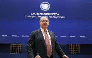 Ο αναπληρωτής υπουργός Πολιτισμού, Νίκος Ξυδάκης.