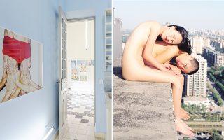 Ο Κινέζος φωτογράφος Ρεν Χανγκ έχει «καταλάβει»αυτές τις μέρες τους χώρους της γκαλερί Atopos, με μια έκθεση αφιερωμένη στο γυμνό σώμα.