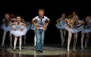O Bradley Perret στο ρόλο του Billy Elliot: Φωτογραφία Alistair Muir