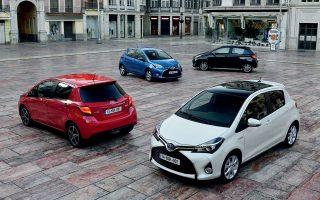 Οσες εταιρείες διαθέτουν στον στόλο τους μικρά αυτοκίνητα πόλης πρωταγωνιστούν στις πωλήσεις: «πρωταθλητής» του πρώτου τριμήνου το Toyota Yaris.