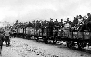 Μικρασιάτες πρόσφυγες στη Μυτιλήνη. Το βιβλίο «Η αυτοβιογραφία του πατέρα μου», της Ουρανίας Λαμψίδου, είναι ένα τραγικό οδοιπορικό που ξεκινάει από τα βάθη της ποντιακής Ανατολίας και καταλήγει στην καρδιά της ταλαιπωρημένης Μακεδονίας των αρχών του 20ού αιώνα.