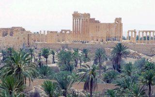 Εντείνεται η διεθνής ανησυχία για την τύχη των αρχαίων μνημείων της Παλμύρας, που βρίσκονται στο έλεος του Ισλαμικού Κράτους.