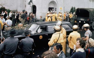 Εικόνα της 13ης/9/1971, λίγο πριν από την επιχείρηση ανακατάληψης του σωφρονιστηρίου «Ατικα».