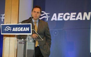 Κατά τη διάρκεια της χθεσινής γενικής συνέλευσης των μετόχων, ο αντιπρόεδρος της Aegean Airlines, Ευτύχης Βασιλάκης, παραδέχθηκε ότι η φετινή επέκταση των δραστηριοτήτων της εταιρείας προγραμματίστηκε χωρίς να έχει προβλεφθεί η τόσο παρατεταμένη περίοδος αβεβαιότητας στην οποία έχει περιέλθει η χώρα, λόγω της μακράς διαπραγμάτευσης της κυβέρνησης με τους εταίρους. Παράλληλα, χαρακτήρισε κομβικό και καθοριστικό για την οικονομία το διάστημα Ιουνίου - Σεπτεμβρίου, το οποίο αναμένεται να κρίνει και τον περαιτέρω σχεδιασμό της εταιρείας για τον προσεχή χειμώνα.