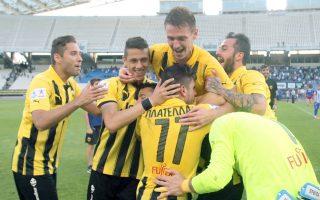 Η ΑΕΚ επικράτησε δύσκολα με 1-0 του Ηρακλή στο ΟΑΚΑ.
