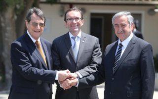 Η επόμενη συνάντηση μεταξύ των κ. Νίκου Αναστασιάδη και Μουσταφά Ακιντζί θα πραγματοποιηθεί στις 28 Μαΐου.