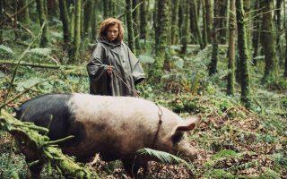 Σκηνή από τη νέα, ιδιαίτερη ταινία «Αστακός» του Γιώργου Λάνθιμου, η οποία τιμήθηκε την Κυριακή με το βραβείο της Επιτροπής του φετινού κινηματογραφικού φεστιβάλ των Καννών.