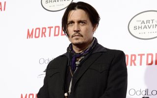 FILE - In this Jan. 25, 2015 file photo, actor Johnny Depp attends the premiere of the feature film