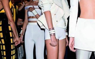 Pixelformula Summer 2015 Womenswear Ready to wear Paris Backstage fashion Balmain