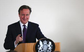 Ο πρωθυπουργός Κάμερον εξέφρασε την άποψη ότι το νομοθετικό του πρόγραμμα θα δίνει σε όλους την ευκαιρία σε μια καλή εκπαίδευση, μια αξιοπρεπή εργασία, ένα σπίτι.