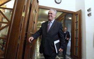 Ο αντιπρόεδρος της κυβέρνησης, κ. Γιάννης Δραγασάκης.