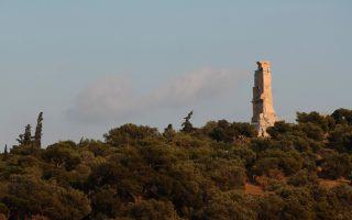 Ο λόφος του Φιλοπάππου αποτελεί μια ανάσα δροσιάς στην Αθήνα.