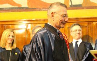 Ο François Englert, φυσικός, βραβευμένος με Νομπέλ το 2013.