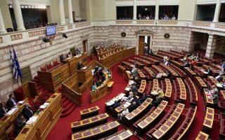 Λίγο πριν από την έναρξη της ψηφοφορίας, άνοιξε θέμα με το άρθρο 5 που αφορά την τοποθέτηση τακτικών δικαστών στα πειθαρχικά όργανα της ΕΠΟ, με τον Π. Χαϊκάλη των ΑΝΕΛ να μεταφέρει από βήματος ως «επίσημη θέση της ΕΠΟ», τη διαφωνία της στην τριετή θητεία των μελών των πειθαρχικών οργάνων...