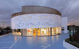 Το OHA και εκτός των ορίων του Δήμου Αθηναίων. Στη φωτογραφία το «Placebo Pharmacy» (KLab architecture) στη Γλυφάδα.