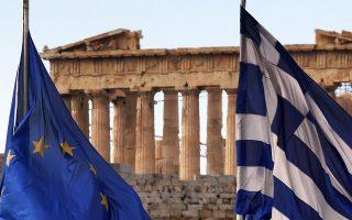 Παρά την τεράστια δημοσιονομική προσαρμογή των τελευταίων ετών (το ελληνικό έλλειμμα μειώθηκε από το 15,6% του ΑΕΠ το 2009 στο εκτιμηθέν, από το ΔΝΤ, 2,7% του ΑΕΠ το 2014), το βεβαρημένο δημοσιονομικό μας παρελθόν (σε βάθος 50ετίας!) εξακολουθεί να αποτελεί «βαρίδι».