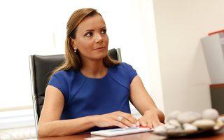 Η πρώην διευθύνουσα συμβούλος του Ταμείου Χρηματοπιστωτικής Σταθερότητας (ΤΧΣ), Αναστασίας Σακελλαρίου.