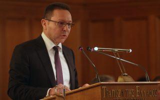 Ο διοικητής της Τράπεζας της Ελλάδος, Γ. Στουρνάρας.