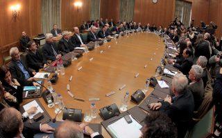 Στον στενό πυρήνα του επιτελείου του κ. Αλέξη Τσίπρα επικρατεί η αντίληψη ότι μέσω του Υπουργικού Συμβουλίου μπορεί να ελεγχθεί συνολικά η Κοινοβουλευτική Ομάδα όσον αφορά τη στάση της κατά την ψηφοφορία επί της συμφωνίας και των μέτρων.