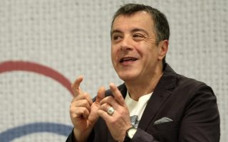 Journalist and TV presenter Stavros Theodorakis presented the new party, called the River,  at a press conference in Athens on March 4, 2014 / Παρουσίαση του κόμματος του Σταύρου Θεοδωράκη, Το Ποτάμι