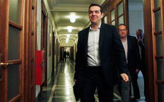 Αισιόδοξος εμφανίστηκε ο πρωθυπουργός Αλ. Τσίπρας ότι μπορεί να επέλθει συμφωνία μέχρι το τέλος του μήνα.