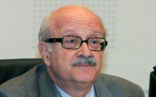 Ο ομότιμος καθηγητής του Πανεπιστημίου Αθηνών, Θάνος Βερέμης.