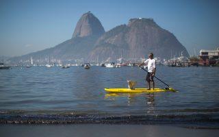 Eνα από τα πιο σημαντικά προβλήματα που αντιμετωπίζουν οι Βραζιλιάνοι είναι η μόλυνση του Κόλπου της Γκουαναμπάρα, στον οποίο θα πρέπει να φιλοξενηθούν τα ιστιοπλοϊκά αγωνίσματα.