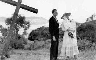 Χένρι Φόντα και Ντολόρες Ντελ Ρίο στην ταινία «Ο φυγάς», που ο Τζον Φορντ σκηνοθέτησε το 1947, κινηματογραφική διασκευή του μυθιστορήματος «Η δύναμις και η δόξα» του Γκράχαμ Γκρην που κυκλοφόρησε πρόσφατα στα ελληνικά από τις εκδόσεις Πόλις.