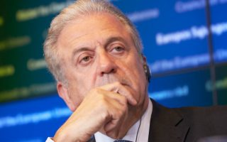 Ο επίτροπος Μετανάστευσης Εσωτερικών Υποθέσεων και Ιθαγένειας, κ. Δημήτρης Αβραμόπουλος.